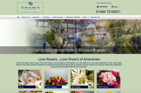 Shaws of Amersham Homepage
