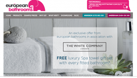 European Bathrooms Homepage