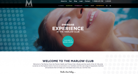 Marlow Club Homepage