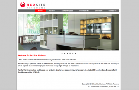 Redkite Kitchens Homepage