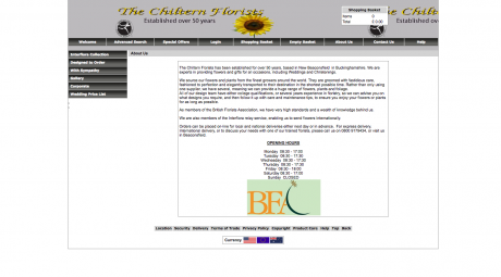 The Chiltern Florist Homepage