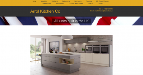 Arrol Kitchen Company Homepage