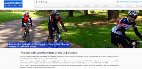 Amersham Road Cycling Club Homepage