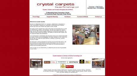 Crystal Carpets Homepage
