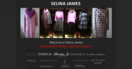 Selina James Homepage